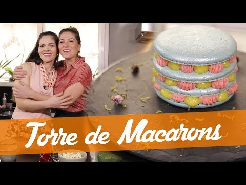 Torre de Macarons - Receita do Bake Off Brasil