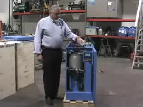 Hydrovane Air Compressor Easy Service Demo By Airvac Youtube