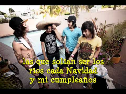 pierce the veil stay away from my friends (subtitulos español)