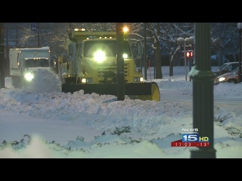 Record Cold Temps, Travel Advisory Makes Fort Wayne Look Like A Ghost Town
