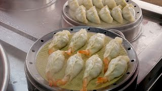 Shrimp Dumplings - Korean Street Food