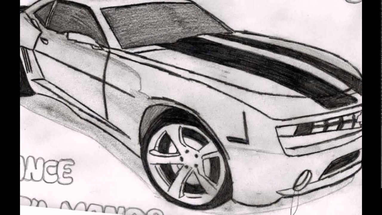 Dibujos De Autos Deportivos Youtube