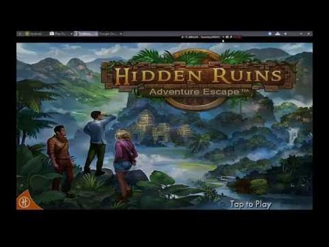 ADVENTURE ESCAPE Hidden Ruins FULL Game Walkthrough