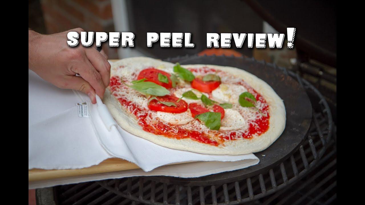 EXO Non-Stick Super Peel Pizza Peel in Solid White Ash