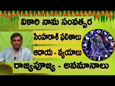 Download 2019 Simha Rasi Phalalu Telugu Tr Creations MP3, MKV, MP4