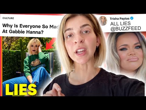 Why Gabbie Hanna is so mad at everyone...