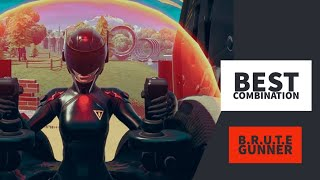 Best Combos | B.R.U.T.E Gunner | Fortnite Skin Review
