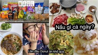 Một Ngày Nấu Nướng ♥ Làm Bánh Flan 8 Phút Bằng Instant Pot ♥ HAUL Đi Chợ Sau Cách Ly