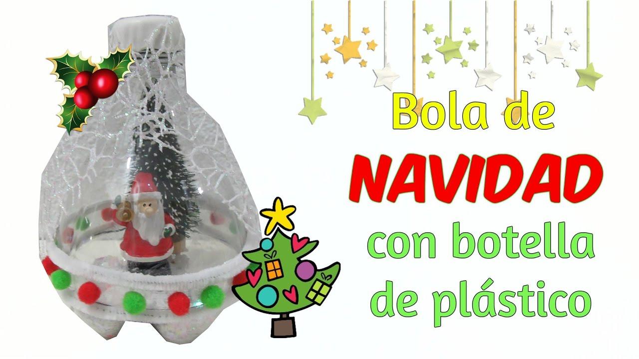 Manualidades f ciles bola de navidad diy manualidades - Manualidades de bolas de navidad ...