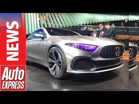 New Mercedes A-Class previewed by Concept A Sedan in Shanghai