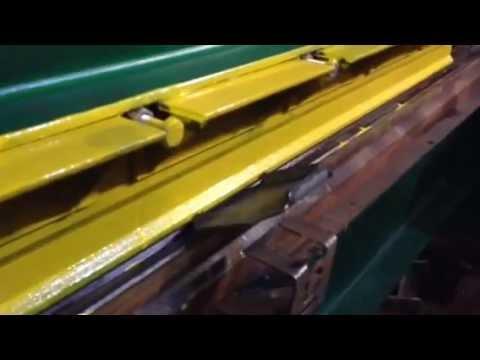Видео Гибка листа металла 6м