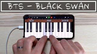 BTS - BLACK SWAN on iPhone/아이폰 (Garageband)