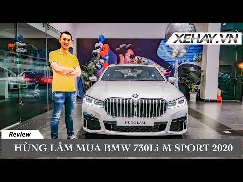Hùng Lâm mua BMW 730Li M Sport 2020  XEHAY.VN 