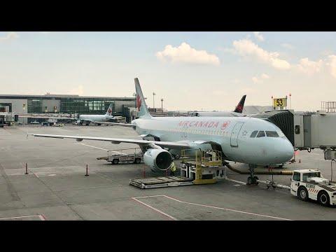 Air Canada A320 Economy Class Calgary To Vancouver