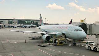 Air Canada A320 Economy Calgary to Vancouver