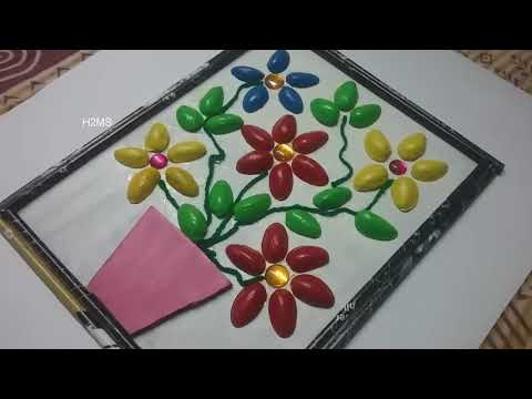 how-to-make-simple-pista-shells-craft-ideas-l-pistachio-l-diy-handmade-project-ideas-l-home-decor