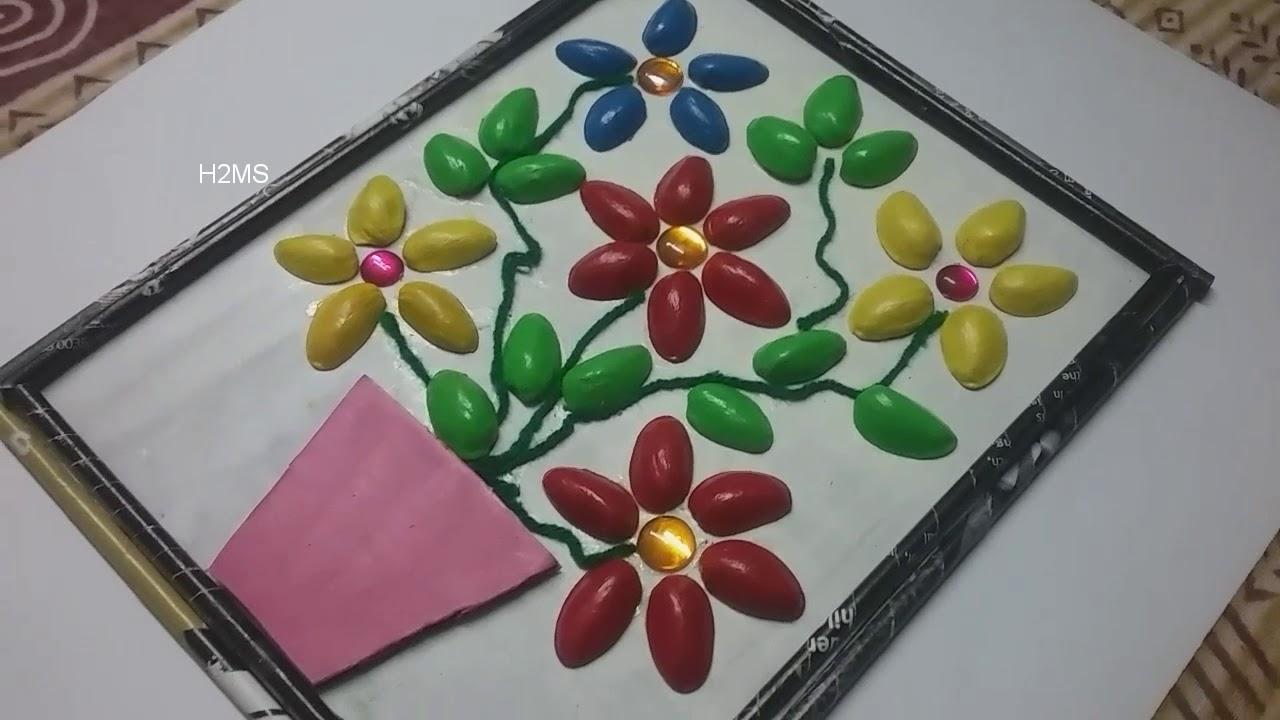 How To Make Simple Pista Shells Craft Ideas L Pistachio L Diy