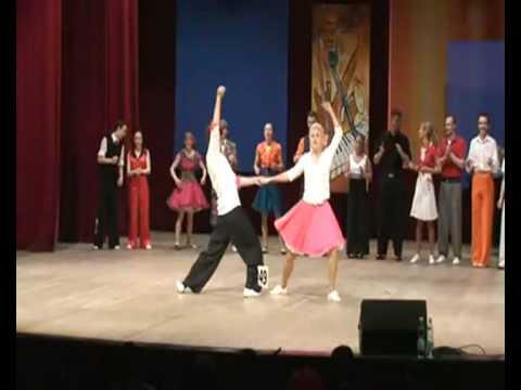 Grzegorz Cherubiński i Agnieszka Cherubińska Swing Step PROMO