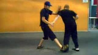 Kick Butt Wing Chun Fight www.wingchun.co.nz Martial Arts Auckland