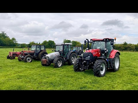 TRACTOR TOUR ON A DAIRY FARM
