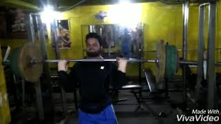 Shoulder press 90kg
