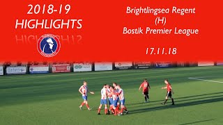 Dorking Wanderers 2-1 Brightlingsea Regent | Bostik Premier League | 17.11.18