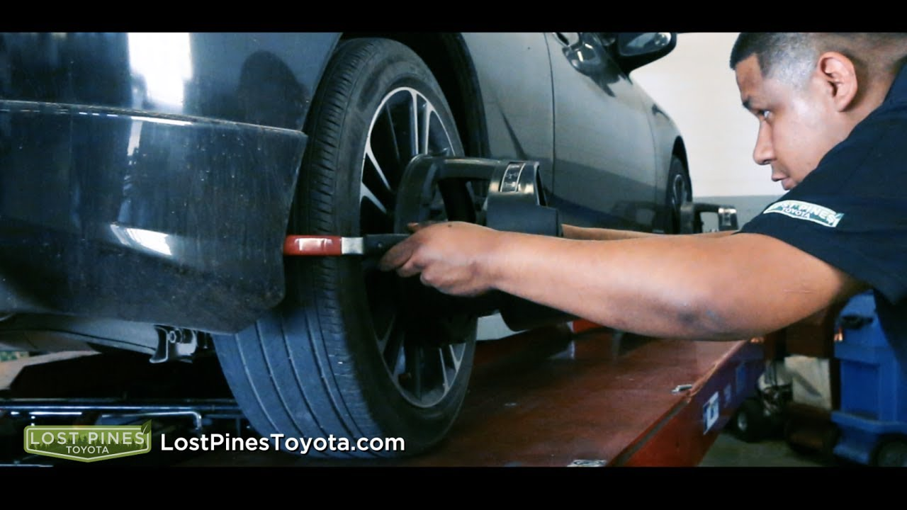 why should i get an alignment lost pines toyota serving bastrop tx youtube. Black Bedroom Furniture Sets. Home Design Ideas