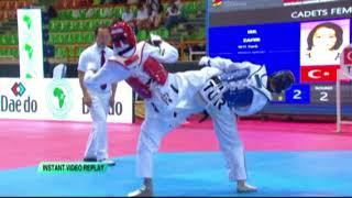3.World Cadets 47kg Silver Medalist Işıl Zafer