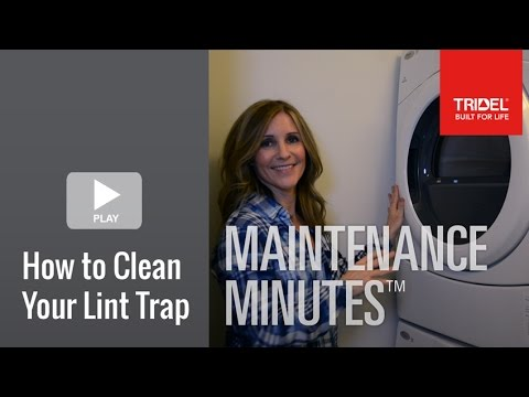 How to Clean Your Lint Trap
