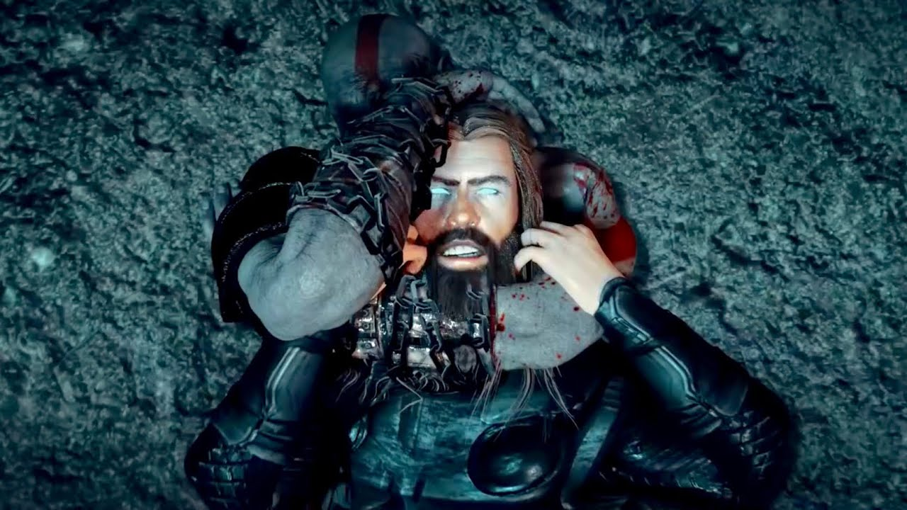 Kratos Vs Thor Part Ii God Of War Vs God Of Thunder