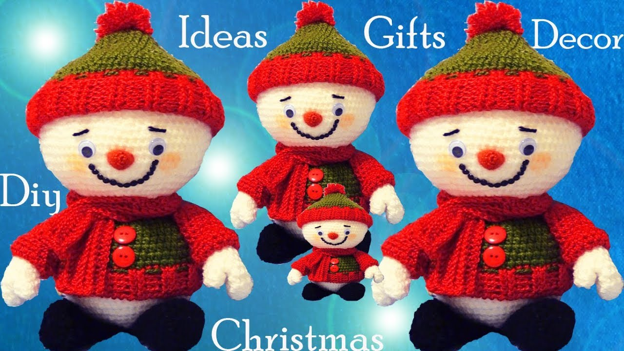 A Crochet Muñecos Ideas Tu Tejido Tallermanualperu Nieve Decora Navidad Regalos De 4Aq35RjL