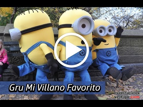 happy birthday song by minion doovi ForEspectaculo Gru Y Sus Minions