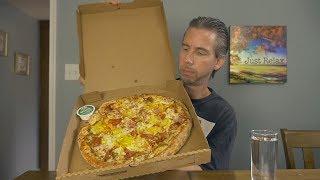Let's Eat! Papa John's Italian Hero Pizza | ASMR