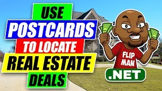 How to Use Postcards to Locate Real Estate Deals   Real estate Investing   Wholesaling Houses