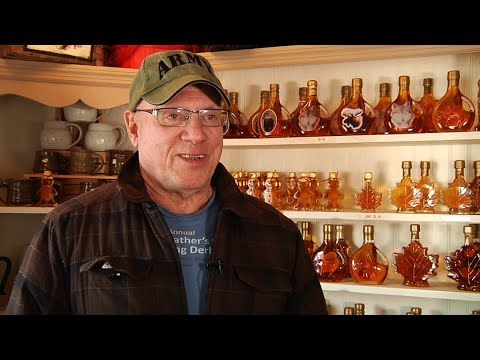 Maple sugar is big business in West Chazy, New York