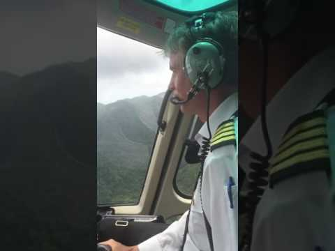 St. Lucia helicopter airport taxi- full flight
