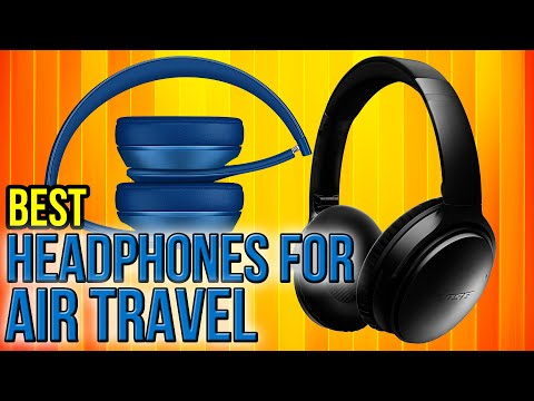 7 Best Headphones For Air Travel 2017