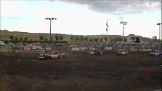 Central Montana Demolition Derby 2011 Mini car Heat