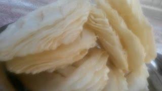 Fini roti recipe, How to make fini, Nepali food recipe