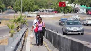 Habitantes de Zona Oriente, en riesgo por puente inconcluso