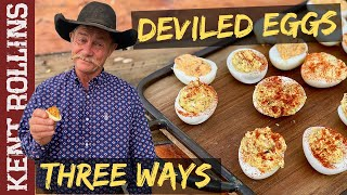 The Best Deviled Eggs | 3 Ways to Make Deviled Eggs