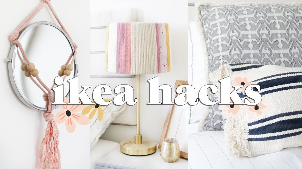 Ikea Hacks | DIY Budget Home Decor Ideas 2018 - YouTube