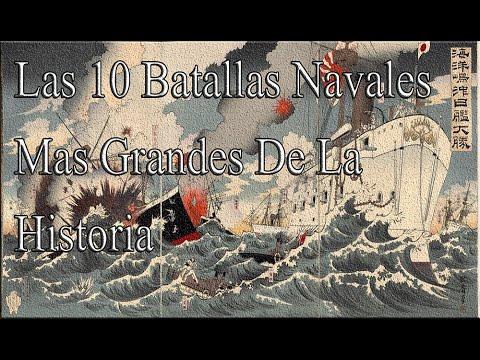 Las 10 Batallas Navales Mas Grandes De La Historia - YouTube