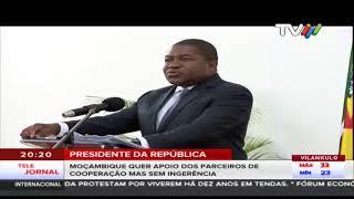 Presidente Da República: Moçambique quer apoio dos parceiros de cooperação mas sem ingerência