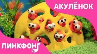 Как Слепить Рыбки из Пластилина | Акулёнок | Песни про Животных | Пинкфонг Песни для Детей