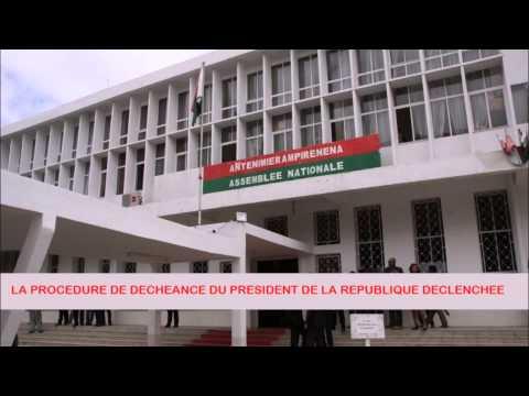 Procédure de déchéance du Président  Rajaonarimampianina