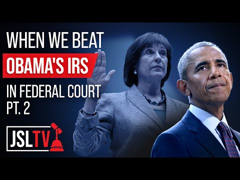When We Beat Obama's IRS in Federal Court pt. 2 - Sekulow Ep. 580