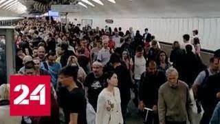 Две аварии за неделю: почему поезда в метро не едут - Россия 24