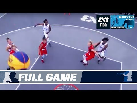 France and Switzerland duke it out to the last second! - Full Game - FIBA 3x3 World Cup 2017