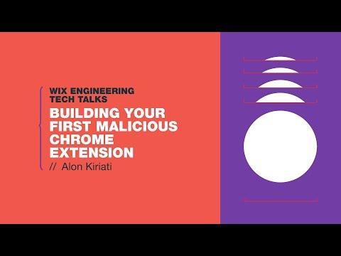 Building Your First Malicious Chrome Extension - Alon Kiriati